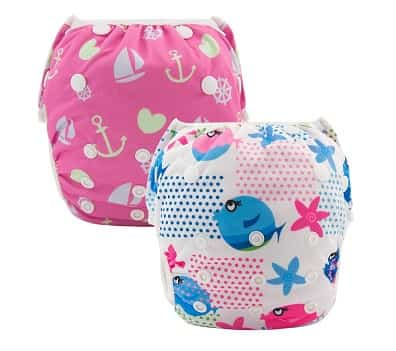 Alva Baby Reusable Swim Diapers
