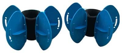 AquaLogix Resistance Fins Blue Large