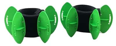 AquaLogix Resistance Fins Green Low