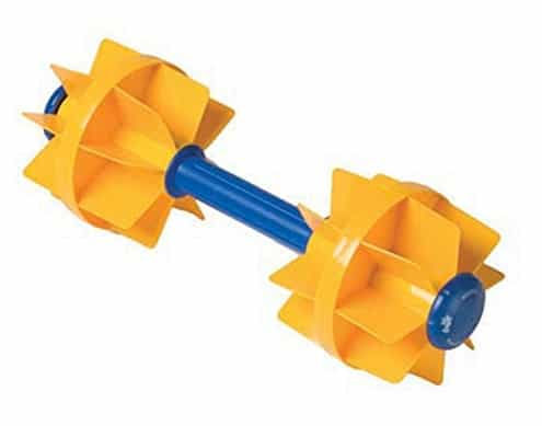 Kiefer Water Workout Dumbbells yellow