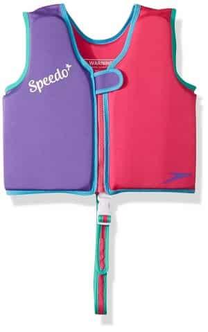 Speedo Kids Begin to Swim Classic Swim Vest Berry Grape