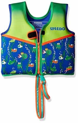 Speedo Kids Begin to Swim Classic Swim Vest Printed