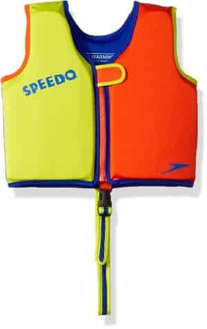 Speedo Kids Begin to Swim Classic Swim Vest Yellow Orange