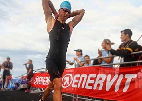 Swimskins for triathletes