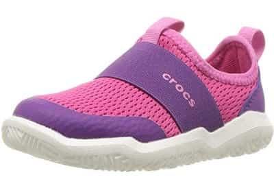 4e7bb3e2b86b rocs Swiftwater Easy-On Kids Water Shoe Purple