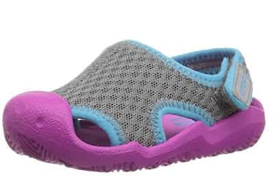 Crocs Swiftwater Water Sandal for Kids Pink-min