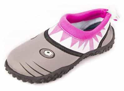 Fresko Tolddler Swim Shoes Pink Shark