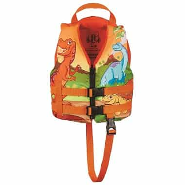Full Throttle Life Jacket for Kids Dinosaur