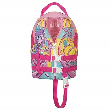 Full Throttle Life Jacket for Kids Princess