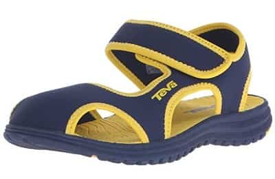 Teva Kids Water Sandals Yellow-min