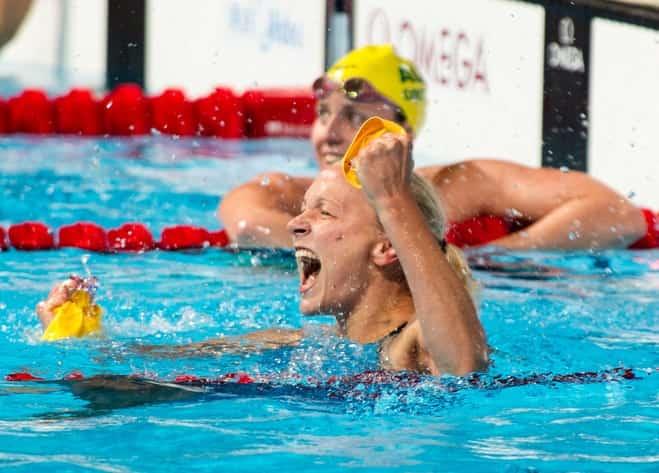 Sarah Sjostrom Swim Practice