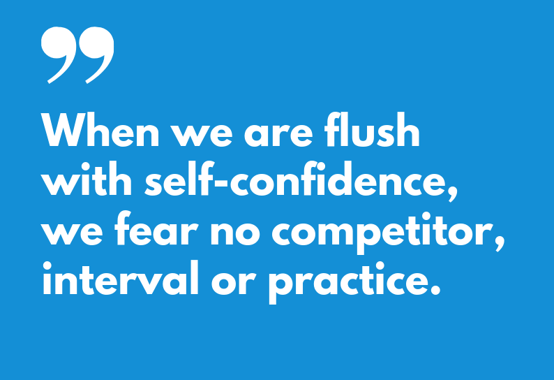 How Swimmers Can Develop Self-Confidence