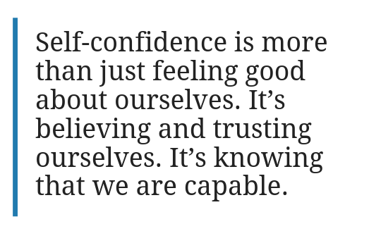 The 3 Different Kinds of Self-Confidence