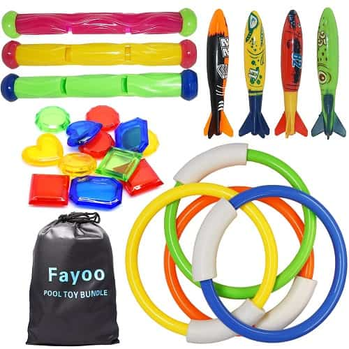 Fayoo Underwater Pool Toy Set