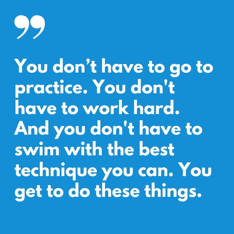 Gratitude for Swimmers