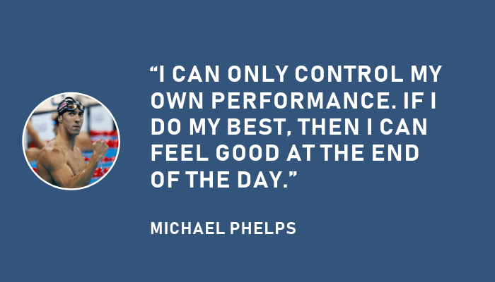 Michael Phelps Compete with Yourself