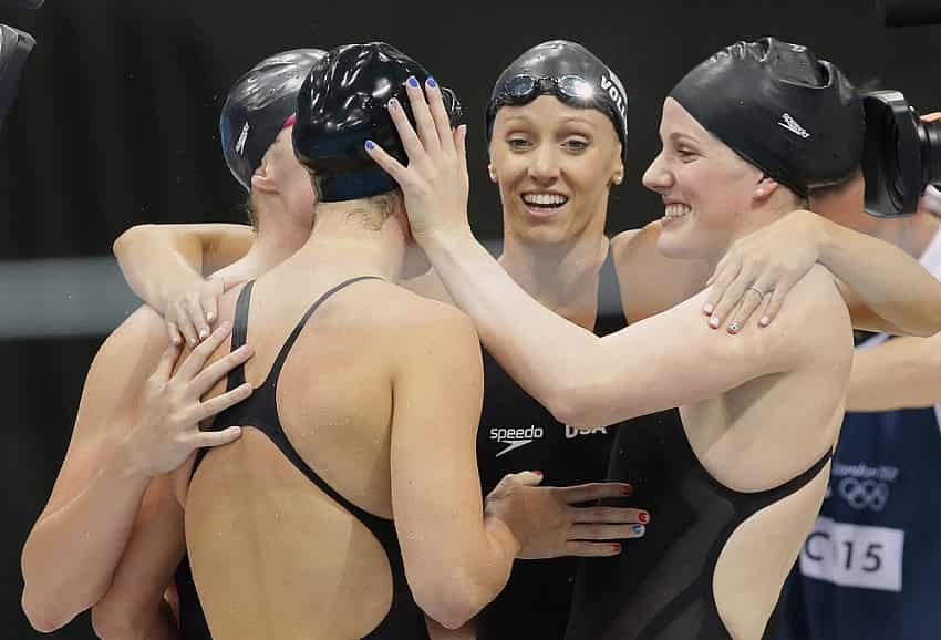 Why Do Some Swimmers Go So Much Faster on Relays?