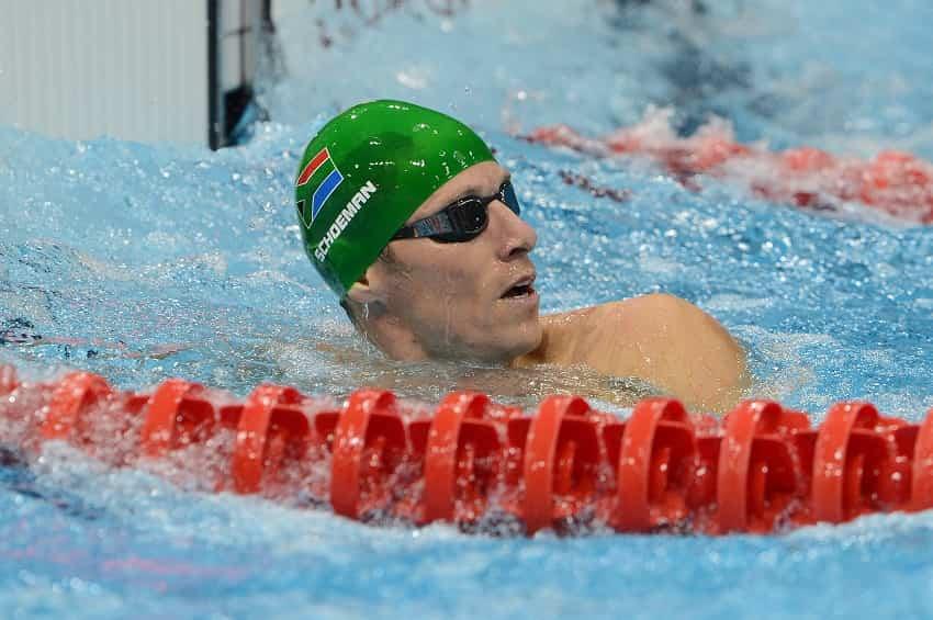 Roland Schoeman Swim Training