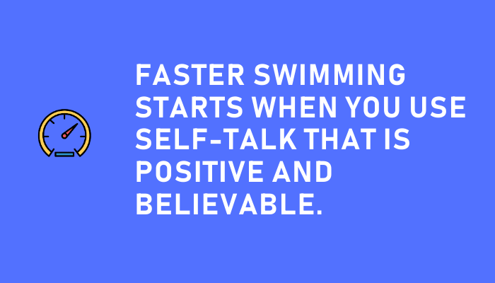 Self-talk for swimmers