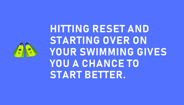 Starting Over is a Chance to Start Better