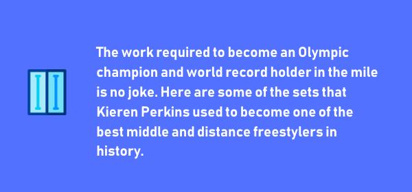 Kieren Perkins Distance Swimming Workouts