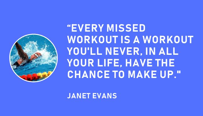 Janet Evans Swim Practices