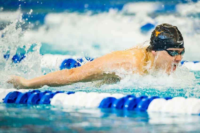 Olympic Champion Joe Schooling's Epic Kick Sets