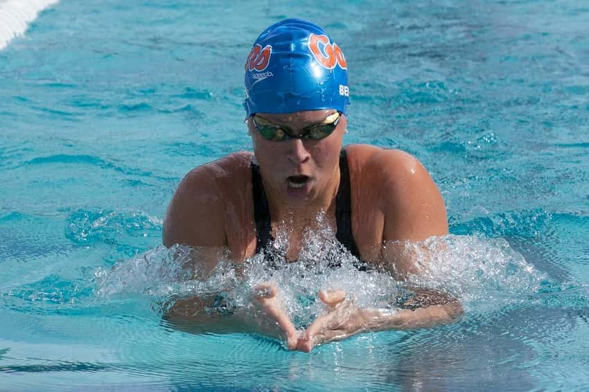 Training for the 400m IM with 3-Time Olympian Elizabeth Beisel