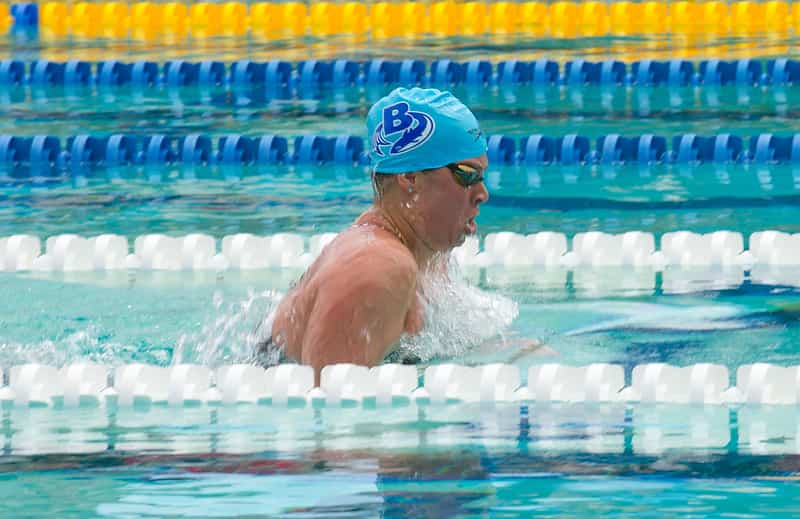 Training for the 400m Individual Medley