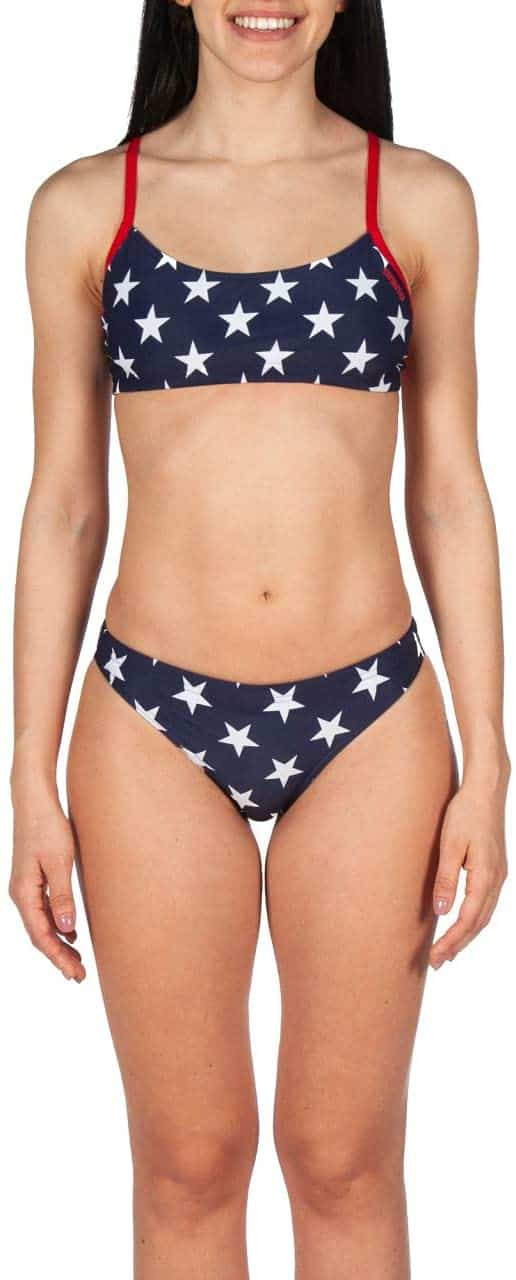 Arena Official USA National Swim Team Two-Piece Training Suit