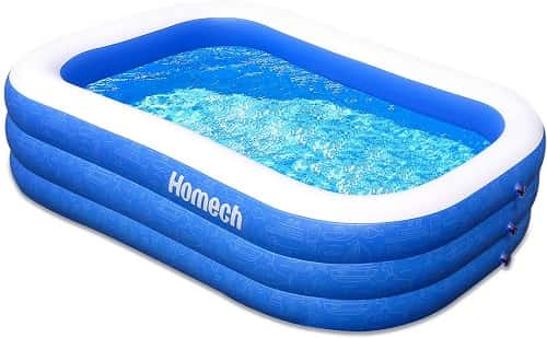 Best Inflatable Above Ground Swimming Pools - Homech Swim Pool