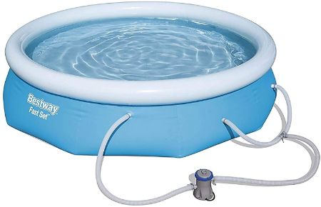 Best Inflatable Pools - Bestway Above Ground Inflatable Pool Set