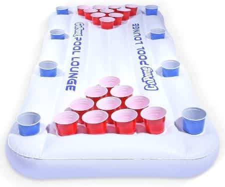 Best Pool Inflatables for Adults - GoPong Beer Pool Pong Inflatable