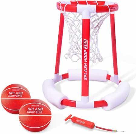 Best Swim Pool Games -- GoSports Floating Basketball Hoop