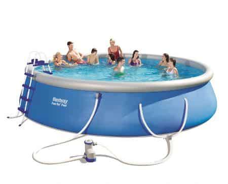 """Bestway Fast Set 18"""" x 48"""" Inflatable Pool"""