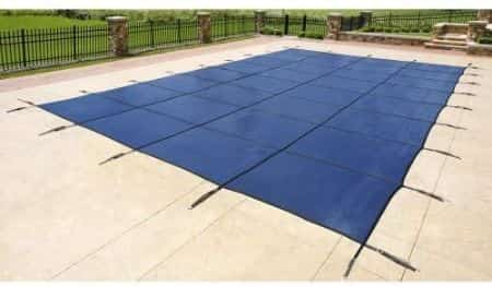 Blue Wave Rectangular In-Ground Safety Cover