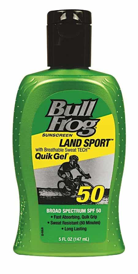 Bull Frog Gel Waterproof Sunscreen