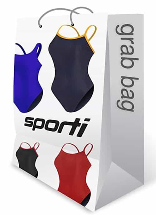 Cheap Swimsuits for Women - Sporti Women's One-Piece Grab Bag