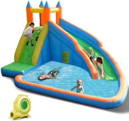 Costzon Inflatable Kiddie Pool and Water Park
