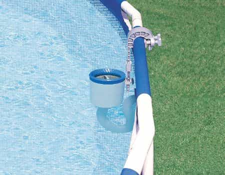 Intex Deluxe Wall Mount Automatic Pool Skimmer