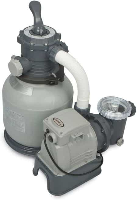 Intex Krystal Clear Sand Filter for Above Ground Pools