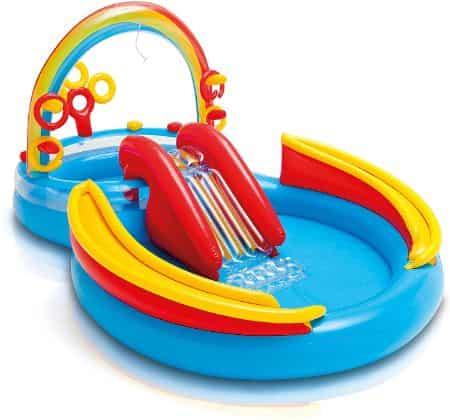 Intex Rainbow Rings Kiddie Pool