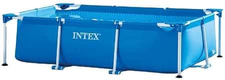 Intex Rectangular Frame Above Ground Swimming Pool