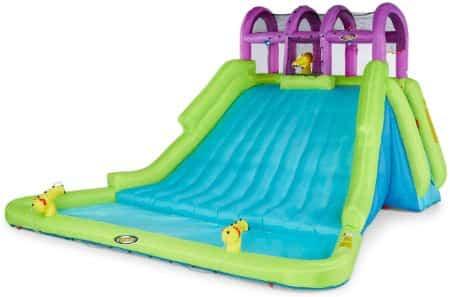 Kahuna Mega Blast Inflatable Kiddie Pool and Water Park