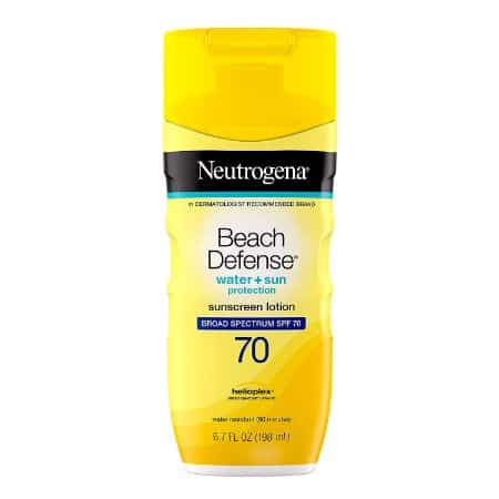 Neutrogena Beach Defense Water Resistant Sunscreen