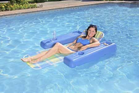 Poolmaster Swimming Pool Chaise and Lounger
