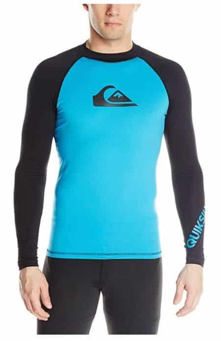 Quiksilver All-Time Long Sleeve Rashguard Swim Shirt