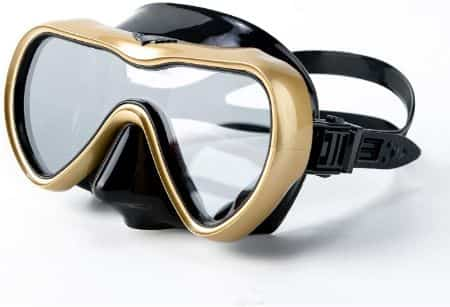 Rongbenyuan Swimming Goggles with Nose Cover