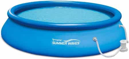 """Summer Waves 15' x 26"""" Inflatable Swimming Pool"""