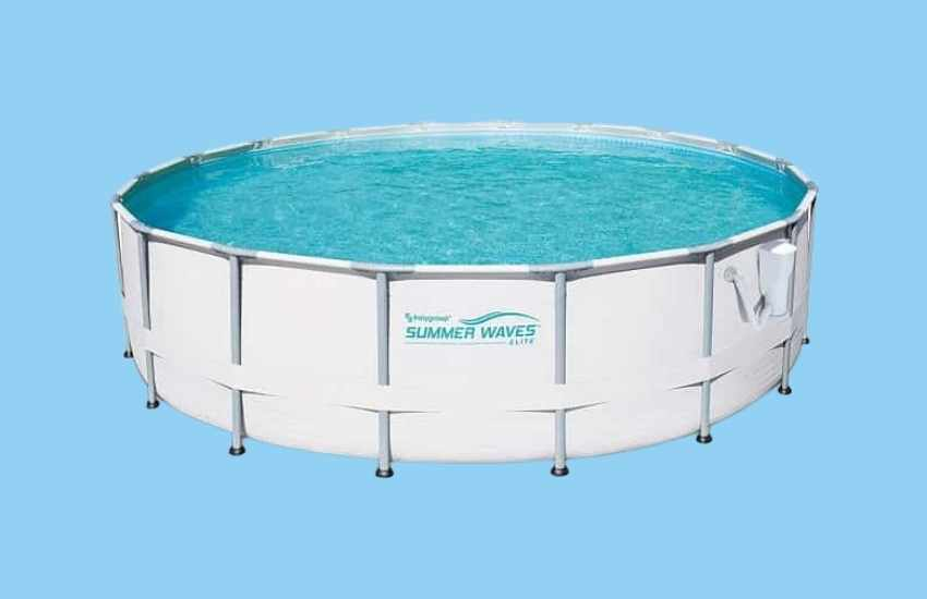 Summer Waves Elite Above Ground Swimming Pool